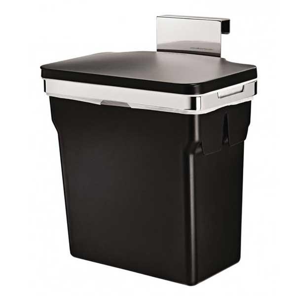 Simplehuman-Inbouw-Universeel-10-Liter-afvalbak