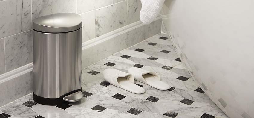 Kleine Prullenbak - Mini Afvalbakje: Badkamer, Toilet, Aanrecht