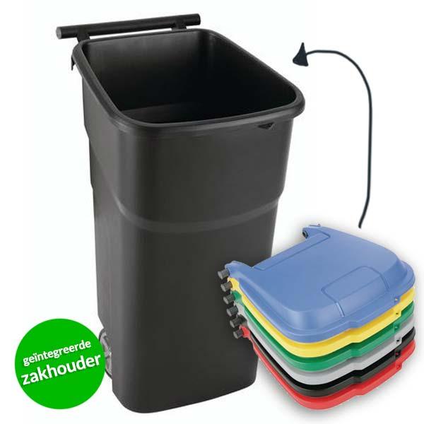 bak voor plastic afval