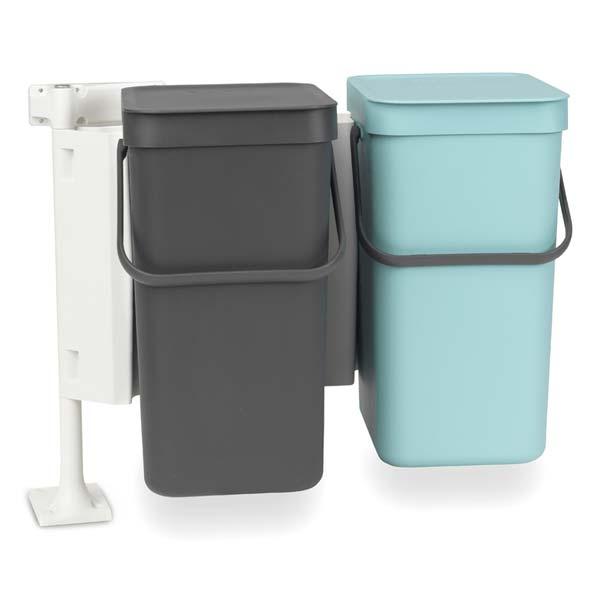 Afvalemmer Brabantia 30 Liter.Inbouw Prullenbak Voor Uw Keukenkast Bekijk Inbouw Afvalbakken