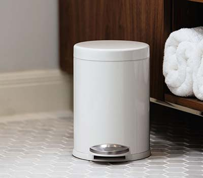 Brabantia Prullenbak Roze.Kleine Prullenbak Mini Afvalbakje Badkamer Toilet Aanrecht