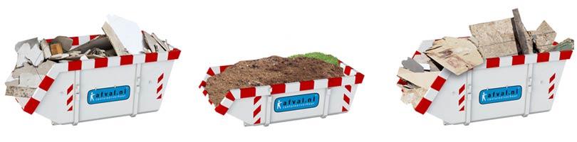 Goedkoopste bouwafval container huren