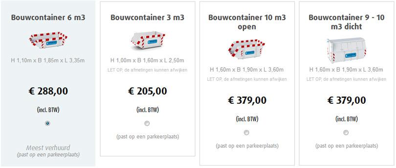 Afvalcontainer Bestellen Bij Afval Nl Huur Snel Amp Betaal