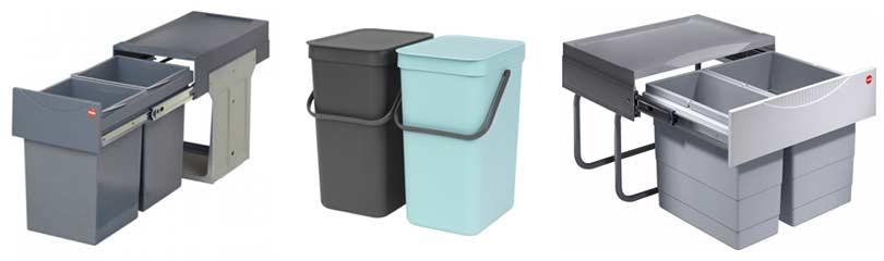 Genoeg Afvalbak voor de Keuken of Keukenkast - Gescheiden Prullenbak KL46