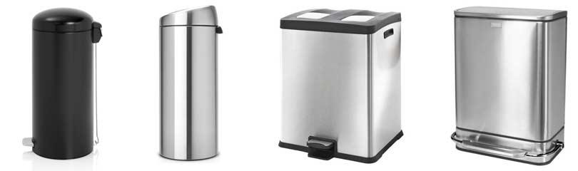rond-of-vierkante-afvalbak-voor-in-de-keuken