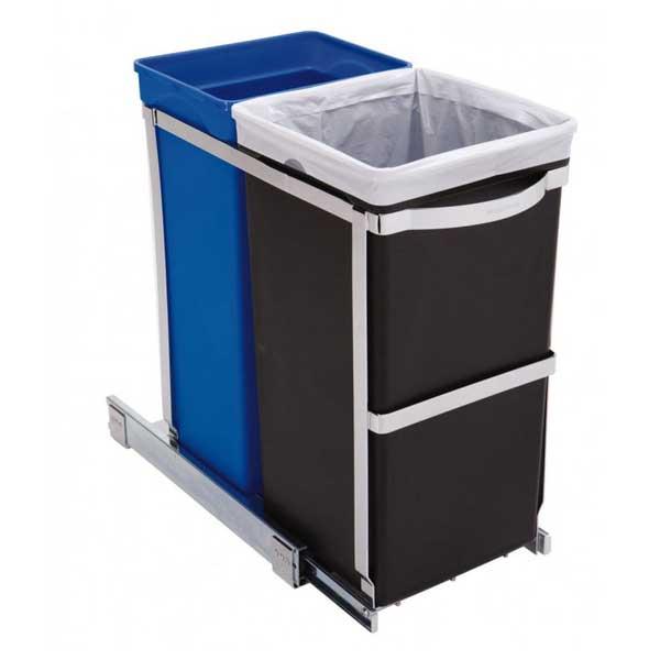 simplehuman-inbouw-pull-out-vuilnisbak