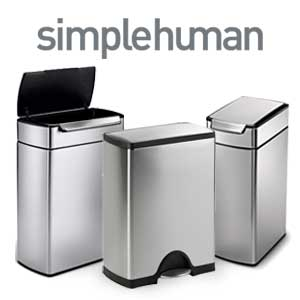 simplehuman-prullenbakken