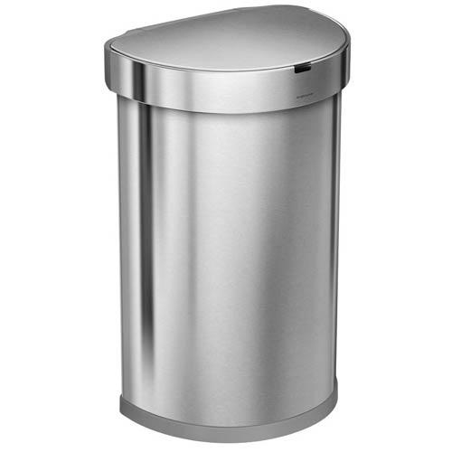 Simplehuman-Semi-round-Sensor-afvalbak